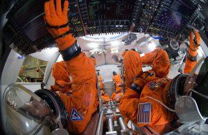 NASA Orion Spacecraft cockpit 2014