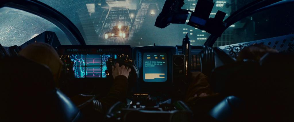 En 1982, l'interface des cockpit des voitures avait fait forte impression