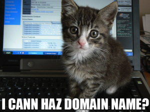 I cann haz domain name? Lolcat