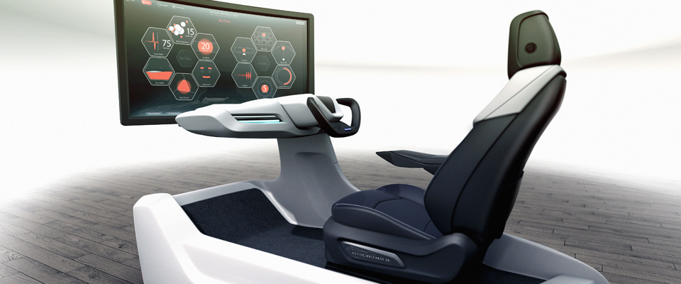 faurecia wellness prototype