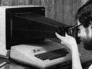Le dispositif pour une capture d'écran en 1980.