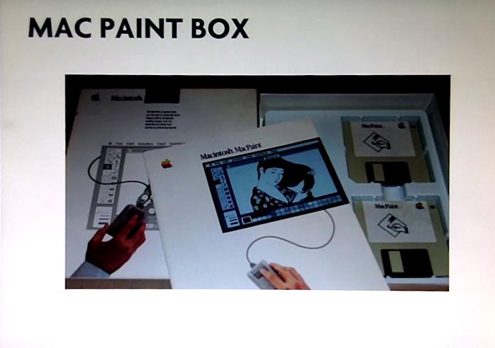 Mon premier logiciel de dessin. Susan Care en a dessiné toutes les icônes d'outils, qu'on retrouvent encore aujourd'hui, notamment dans Photoshop