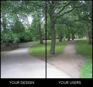 design vs users