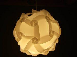 Vite fait bien fait, une lampe design